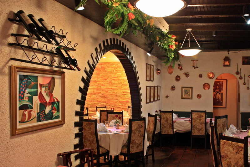 Restaurante El Chalet Suizo - Salones privados