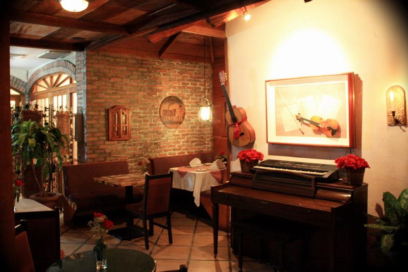 Restaurante El Chalet Suizo - Interior
