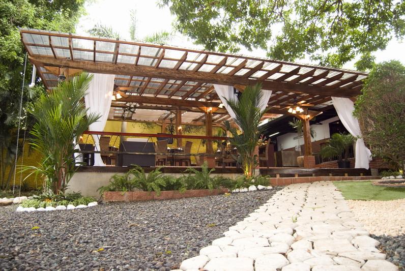 Restaurante María Bonita. Terraza.