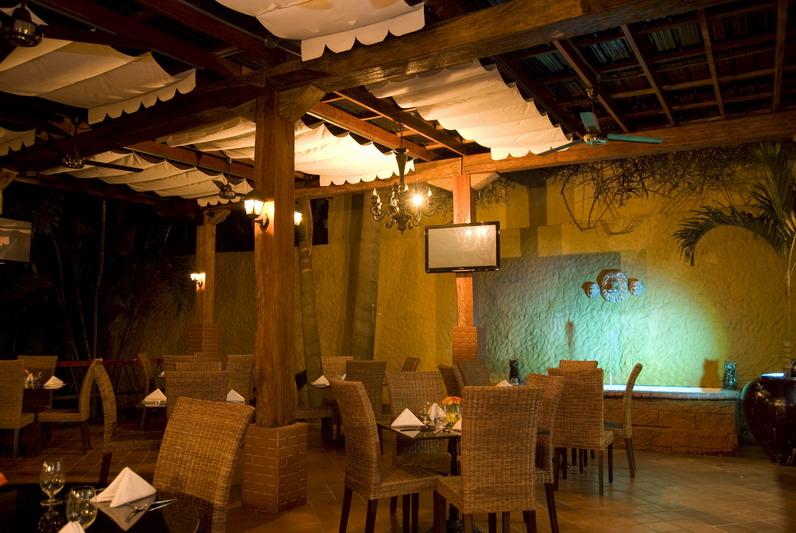 Restaurante María Bonita. Salón principal.