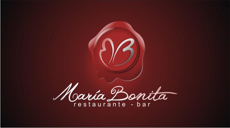 Restaurante María Bonita. Logo