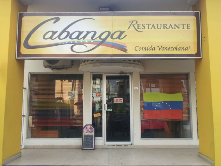 Restaurante Cabanga - Fachada